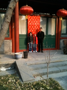 Travelling companions in Beijing