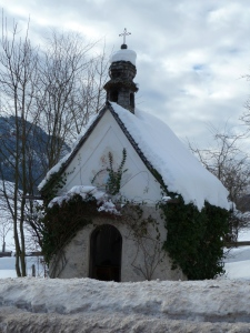 Christmas decorations in Ruhpolding
