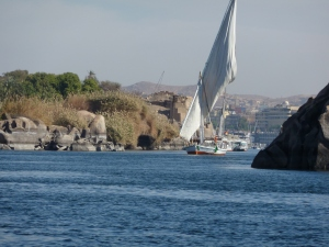 A Felucca on the Nile
