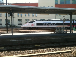 The TGV at Poitiers