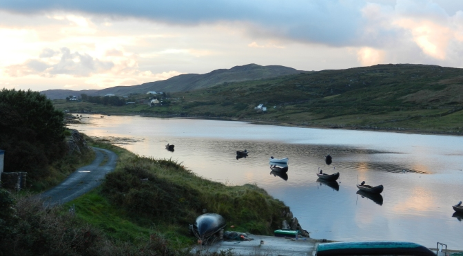 Inishbofin Island and the secret cave