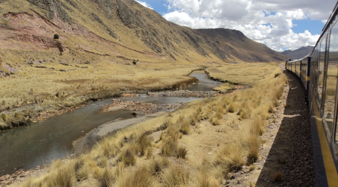 Riding in style on the Andean Explorer