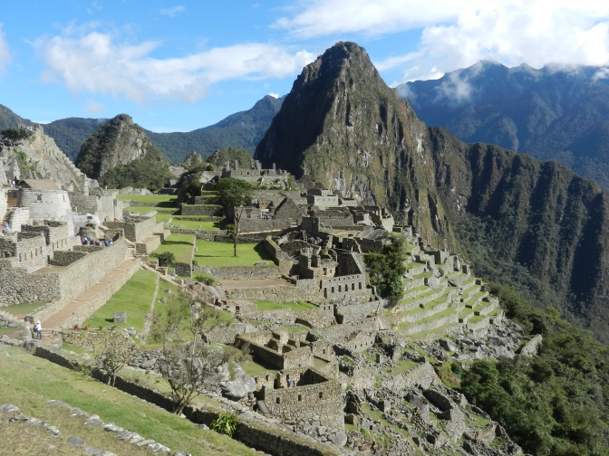 The wonderful Inca Trail to Machu Picchu