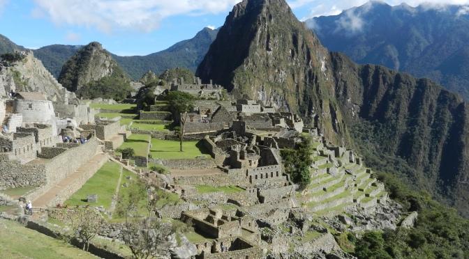 The wonderful Inca Trail to Machu Picchu