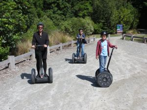 Segway in Queenstown.