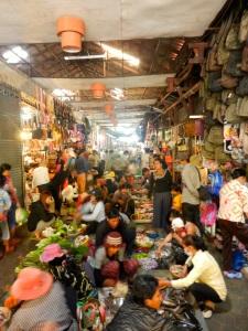 Siem Reap markets.