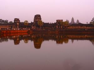 Angkor Wat sunset.