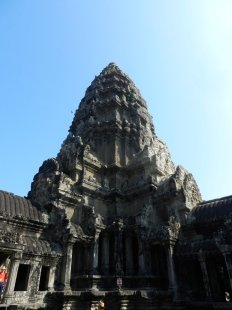 Main tower in Angkor Wat.