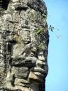 Angkor Thom - eyebrow trim needed.