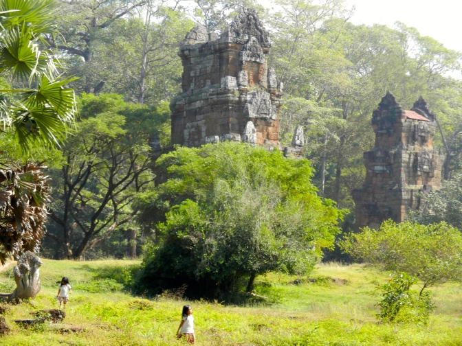 Angkor temples and pragmatic Buddhism