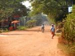 Cambodian road.