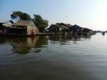 Floating village on Tonle Sap.