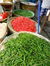 Bangkok flower markets.