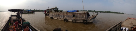 Riverboat panorama.