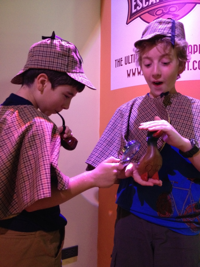 Something entirely different: Channeling Sherlock Holmes
