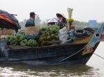 River market in Vietnam.