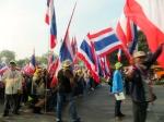 Protestors in Bangkok.